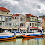 Riverside town in Portugal