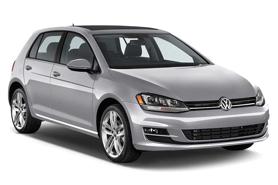 Coche Volkswagen Golf.